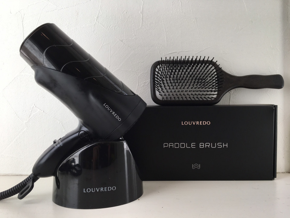 Louvredo paddle brush and dryer